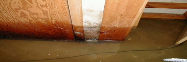 Flood damage restoration and cleaning